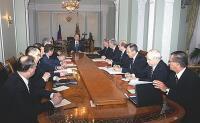На совещании Путина с членами СБ РФ отмечалась ведущая роль США в достижении соглашения по ИЯП - Песков