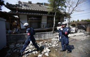 Десятки человек погибли, тысячи ранены в результате серии землетрясений в Японии (Число пострадавших растет с каждым часом)