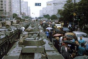 [Фото-документалистика] 19 августа 1991 г., 25 лет назад, ГКЧП
