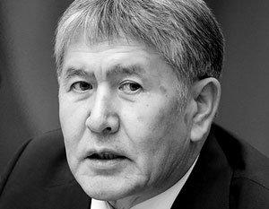 Президент Киргизии предпочел в Грузии говорить на русском