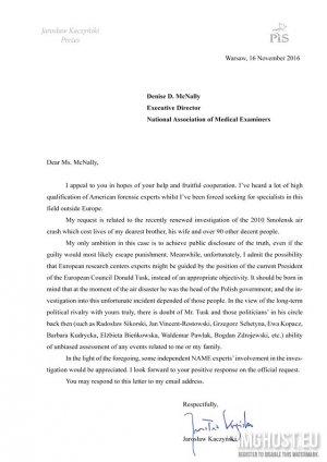 Качиньский выражает личный вотум недоверия Европейскому совету Туска