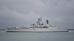 Фрегат ВМС Индии Betwa опрокинулся при выходе из дока в Мумбаи, два человека погибли