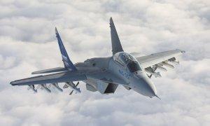 Путину по видеосвязи продемонстрировали испытания нового истребителя МиГ-35
