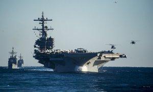 """[Миротворческие бомбовозы] TNY: Почему Китай и Россия боятся новых американских авианосцев типа """"Джеральд Форд"""""""