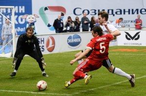 Российские футболисты забили 8 голов немцам