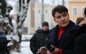 В ДНР приехала Надежда Савченко