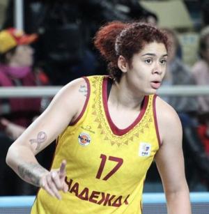 Центровой Аманде Захуй изменили фамилию в баскетбольном клубе Оренбурга