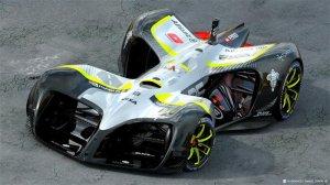 Roborace представили Robocar - официальный автомобиль гонки беспилотников