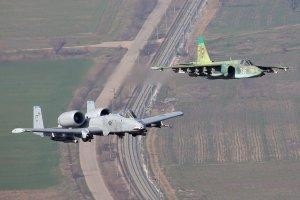 Грач против Бородавочника. Штурмовики Су-25 и А-10 - взгляд из окопа