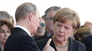 HuffPost, США: встреча Путина с Меркель столкнёт лбами прагматизм и ценности