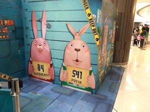 В Китае детские площадки украшают кроликами-уголовниками по имени Путин и Кириенко