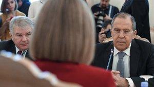 Лавров спросил Могерини, почему санкции ввели только против России