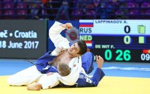 Россияне выиграли чемпионат Европы по дзюдо