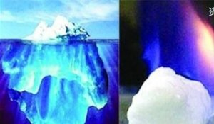 """В Китае впервые сумели добыть """"горючий лёд"""" со дна моря"""