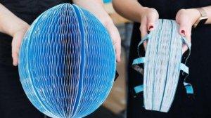 Бумажный шлем, который защищает не хуже обычного и стоит гораздо дешевле от английского дизайнера