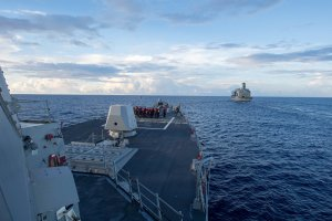 Китай призвал США прекратить провокации в районе Южно-Китайского моря