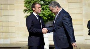 """""""Формула Макрона"""": что обсуждали президенты Украины и Франции в Париже"""