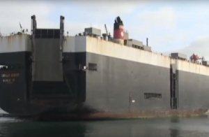 """Российские военные """"преследовали"""" в Балтийском море  торговое судно под флагом США перевозившее в Литву тяжелую военную технику"""