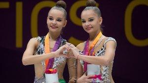Гимнастки Арина и Дина Аверины победили на Всемирных играх в Польше