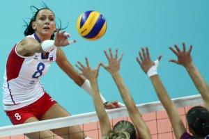 Российские волейболистки стартовали на чемпионате Европы с победы над Украиной