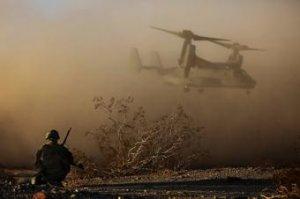 """В Сирии разбился американский """"V-22 Osprey"""" , перевозивший морскую пехоту"""