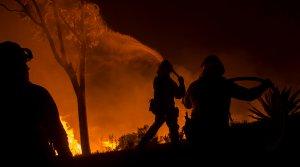Калифорния вновь загорелась (Глава МЧС России предложил США помощь в тушении пожаров в Калифорнии)