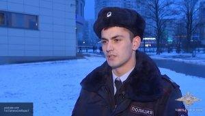 Сержант полиции  спас пассажира, упавшего под поезд в метро