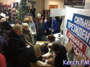Бюджетников Керчи в рабочее время организовано направляют сдавать подписи за Путина