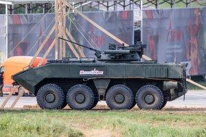 В России создадут колесный танк