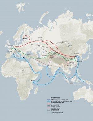 ∆елезнодорожные грузовые маршруты итай-≈вропа продлены до ¬ьетнама