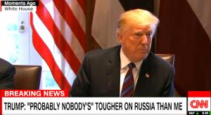 Во время встречи с главами Эстонии, Латвии и Литвы в Белом доме Трамп сделал недвусмысленное заявление о тех кто не дружит с Россией