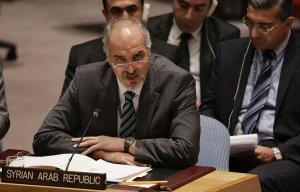 Постпред Сирии при ООН назвал имя ответственного за поставки химического оружия в страну