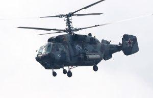 Вертолет Ка-29 упал в Балтийское море