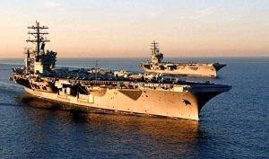 АУГ США вошла в Средиземное море: Путин собирает военный совет