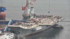 Второй китайский авианосец выйдет в море в ближайшие дни