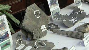 Генштаб представил элементы ракет производства США, Великобритании и Франции