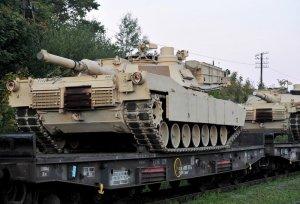 США отправили танки в Европу