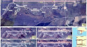 Украина следит за строительством второй полосы аэродрома Бельбек из космоса