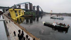 """[""""Какая боль, какая боль!""""] Конца не видно: Украина БОЛЬше 30 лет не может достроить гигантский мост через Днепр, который начали проектировать еще при Горбачеве"""