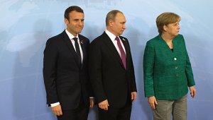 """[нефтедоллар, нефтеюань, нефтеевро...] Макрону и Меркель предложили создать """"нефтеевро"""". Без Москвы не обойтись"""
