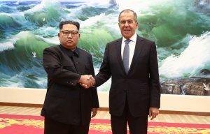 Лавров встретился с Ким Чен Ыном