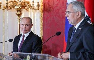 Ле Пен назвала визит Путина в Австрию одним из признаков начала освобождения Европы