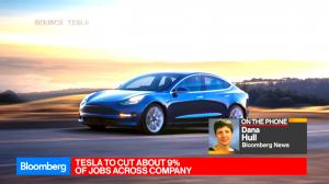 Tesla уволит около 9% сотрудников
