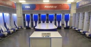 Японские футболисты оставили записку на русском языке в раздевалке после матча в Ростове