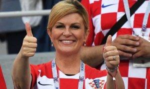 Перед финалом ЧМ-2018 президент Хорватии заговорила по-русски и призвала граждан России болеть за команду ее страны