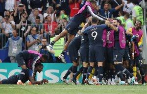 Футболисты сборной Франции победили хорватов и выиграли ЧМ-2018