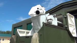 Космические войска получили боевой лазерный комплекс