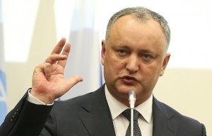 Додон: Молдавия заинтересована в поставках газа из РФ в обход Украины