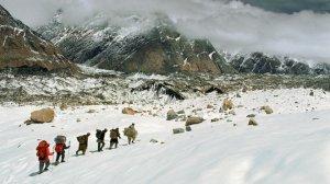 В Пакистане спасен российский альпинист. Он провел неделю на высоте 6200 метров