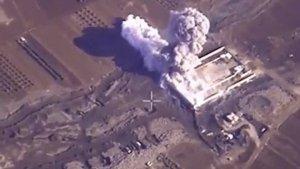 МО подтвердило авиаудары в Идлибе: бомбили склады с БПЛА террористов